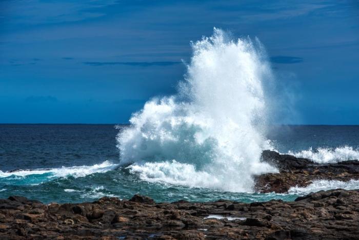 Wandbilder zum Kaufen - Welle auf Cran Canaria
